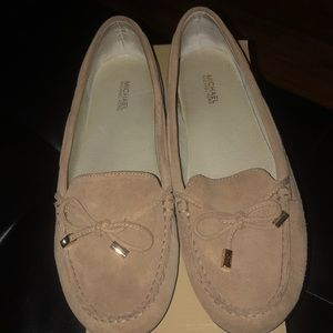 Toffee suede shoes